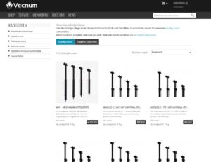 Online Shop Vecnum